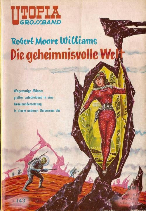 Ретрофутуризм в книжной и журнальной иллюстрации плюс кое-что еще (99 работ)