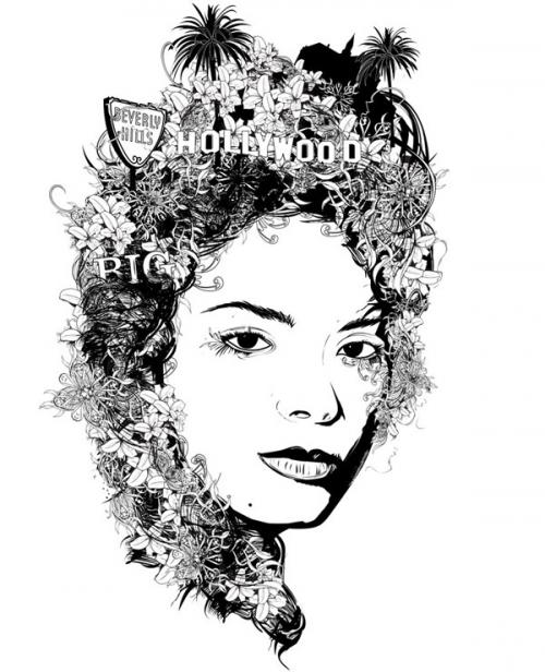 Графический дизайнер-иллюстратор Douglas Alves (26 работ)