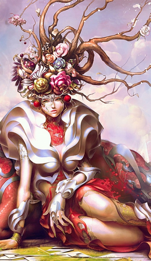 Художник Yu Cheng Hong (51 работ)