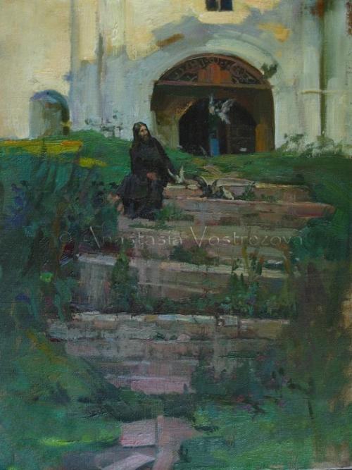 Девочки в пуантах Анастасии Вострецовой (143 работ)