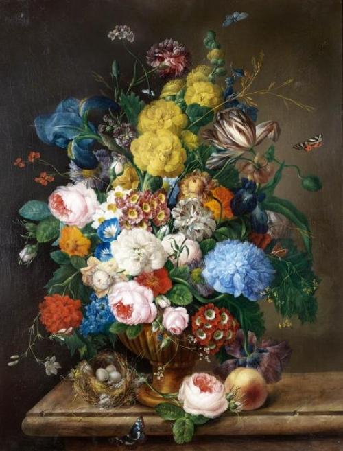 Натюрморты Franz Xaver Petter (Austrian, 1791-1866) (58 работ)