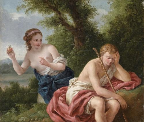 Louis Jean Francois Lagrenee (1725-1805) (64 работ)