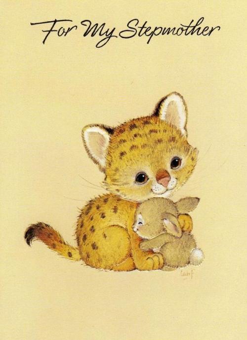 Открытки с рисованными животными (155 работ)