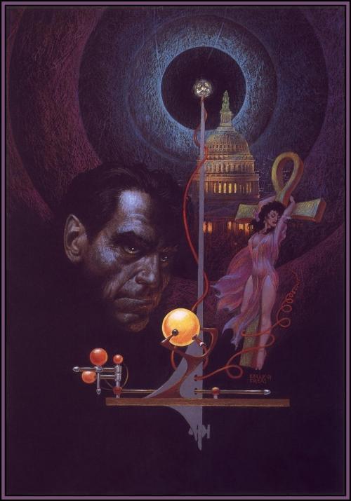 Фантастические картины Френка Келли Фриса (157 работ)