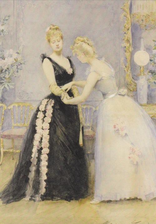 Художник Madeleine Jeanne Lemaire (1845-1928) (89 работ)