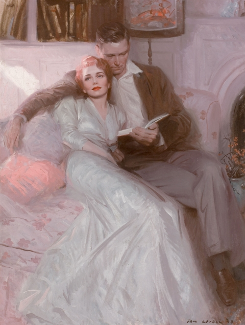 Художник-иллюстратор Tom Lovell (78 работ)