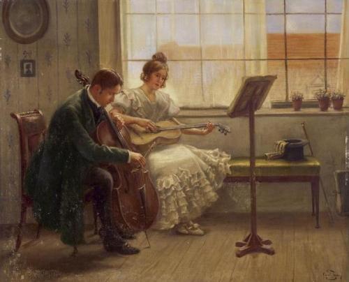 Художник Carl Zewy (Austrian 1855-1929) (36 работ)