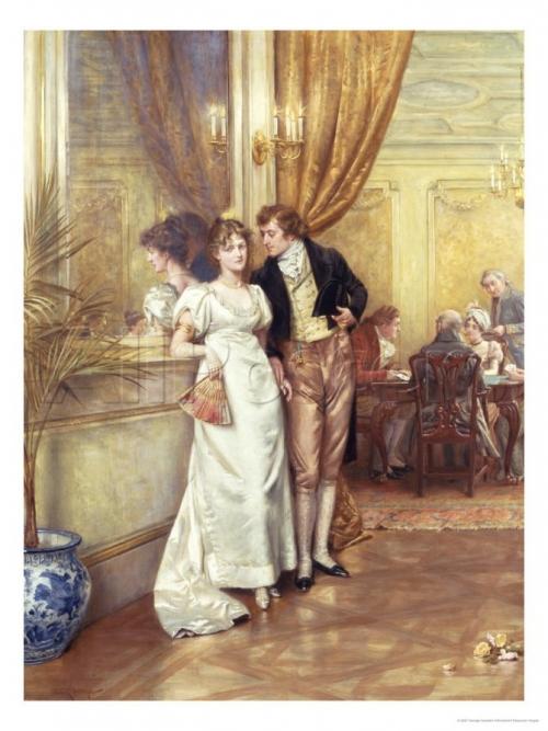 Английский живописец George Goodwin Kilburne (1839-1924) (265 работ)