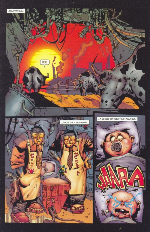 Ну очень хорошие комиксы-1. Dead Or Alive - A Cyberpunk Western (92 работ)