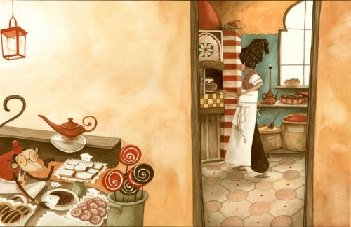 Итальянский иллюстратор Daniela Volpari (58 работ)