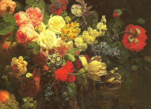 Jan Frans van Dael (1764-1840) (33 работ)