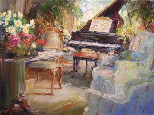 Романтический импрессионизм Стивена Шортриджа (143 работ)