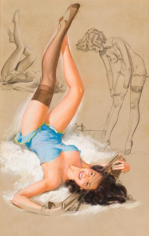 Художник-иллюстратор Knute O. Munson (1900-1967) (47 работ)
