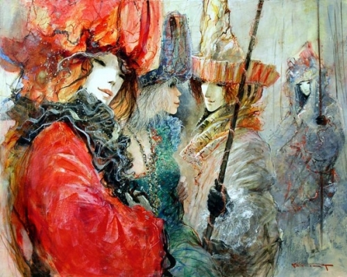 Французкий художник иллюстратор Marcel Nino Pajot (25 работ)