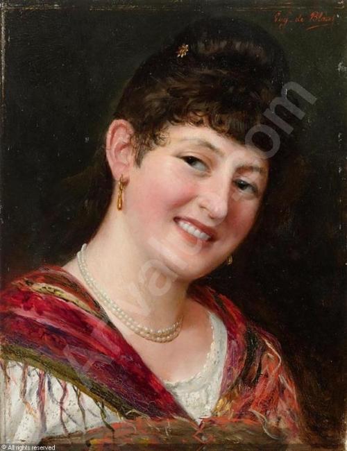 Художник Eugene de Blaas (Eugen von Blaas) (152 работ)