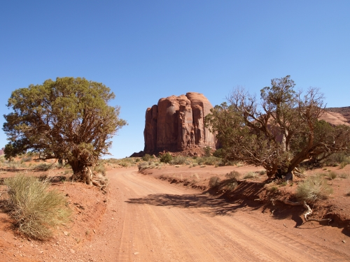 Долина Монументов - земля племени Навахо (100 фото)