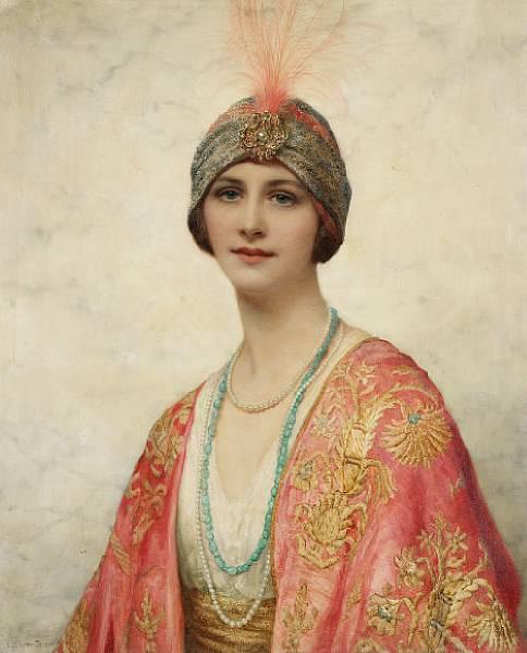 Английский живописец William Clarke Wontner (1857 - 1930) (33 работ)
