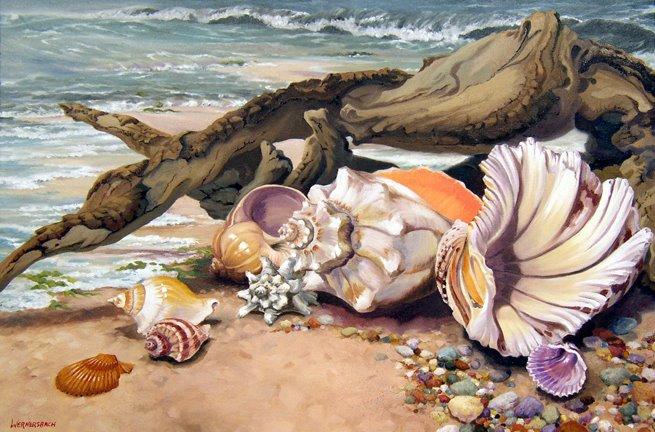 Декупаж на морскую тему фото
