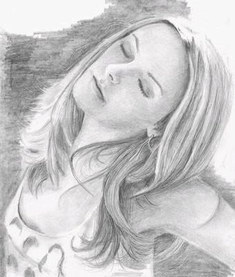 Рисунки простым карандашом (33 работ)