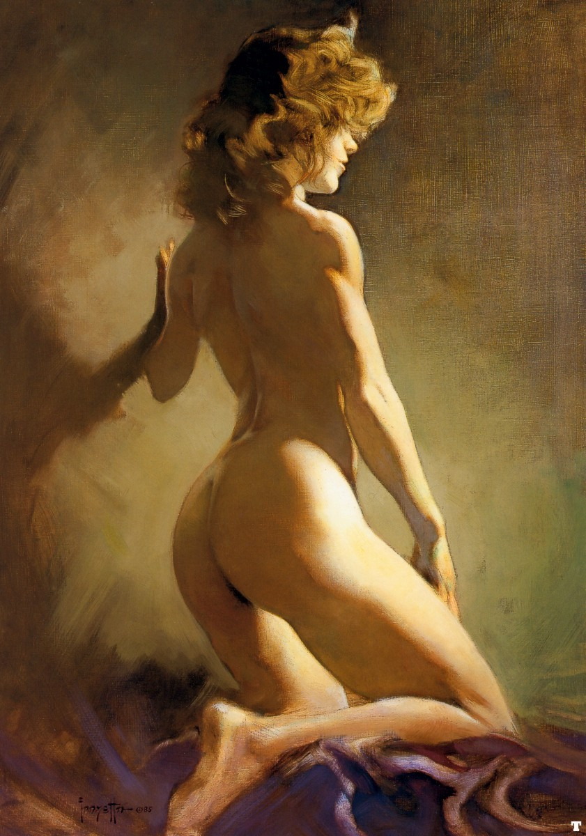 Nude erotic fantasy art sexy video