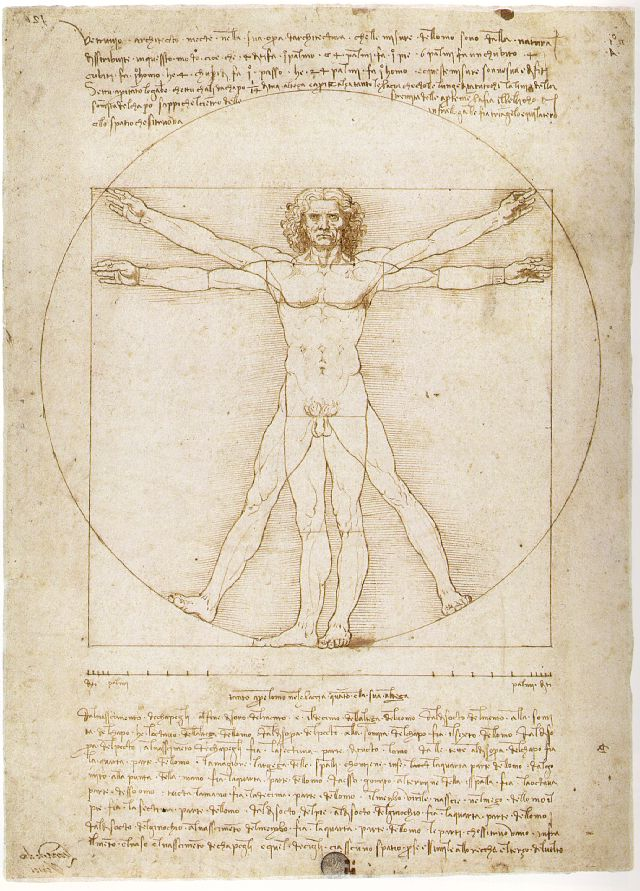 vitruvius human scale influences generations Vitruvius described the human figure as being the principal source of another possible influence for leonardo's depiction may have been the codex.