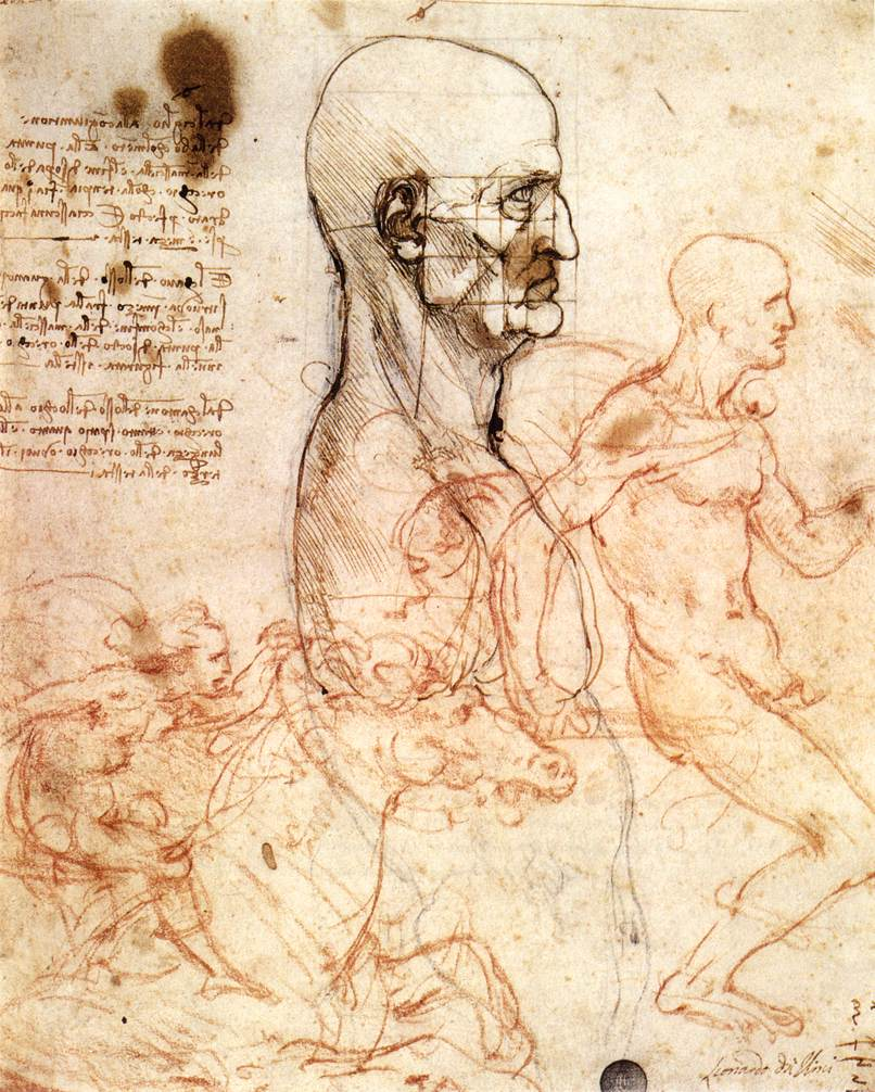a brief biography of leonardo da vinci and his contributions to art science and humanity