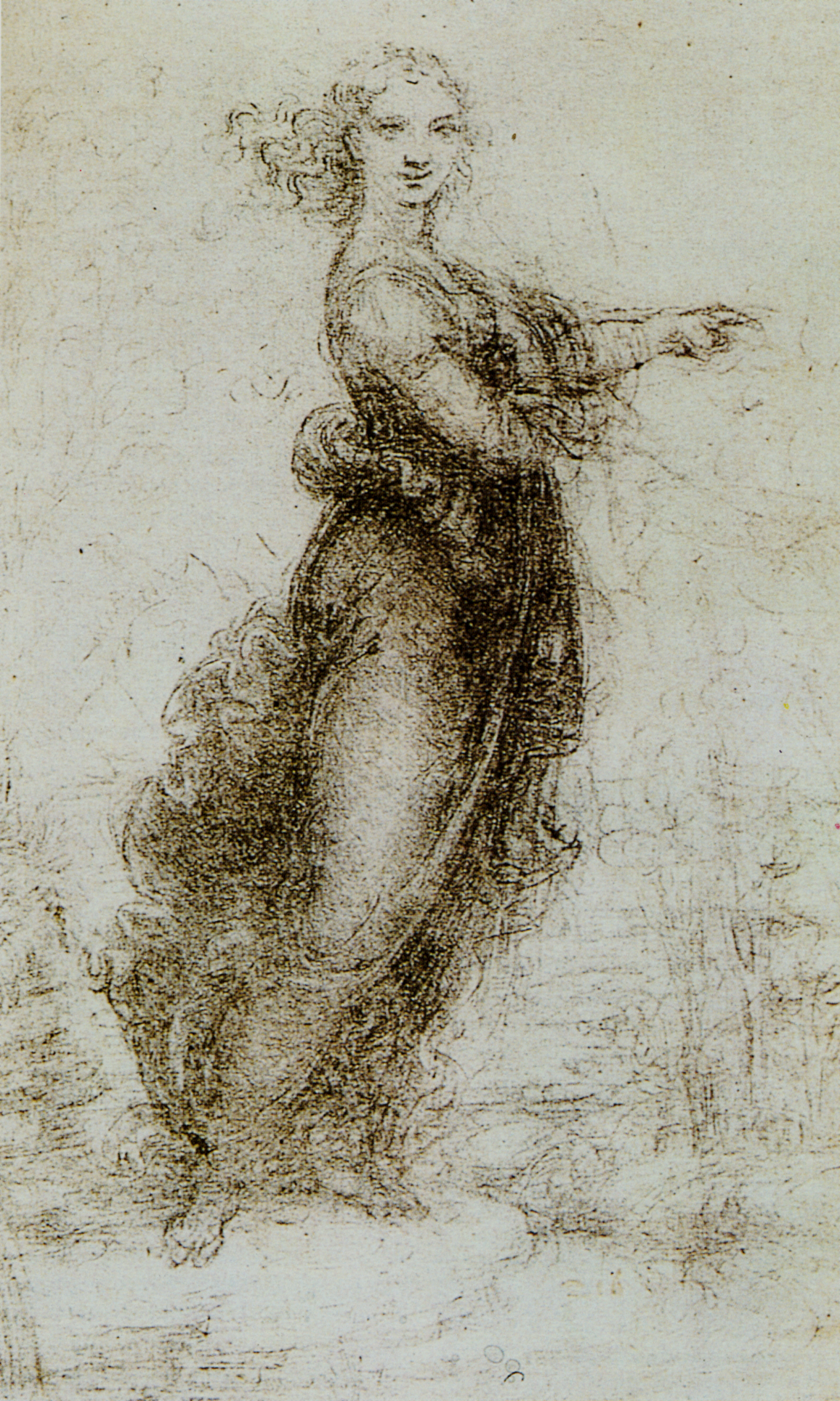 the work of leonardo da vinci From anatomical studies to architectural plans, complex engineering designs to pudgy infant portraits: discover the delicate finesse of one of the most.