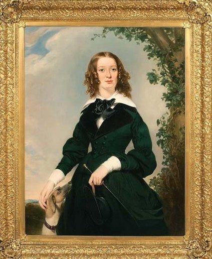 Английский художник William Edward Frost (1810-1877) (61 работ)
