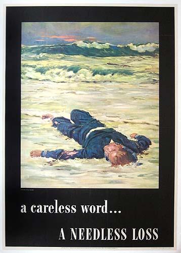 Агитационные плакаты США периода I и II Мировых Войн (475 работ)