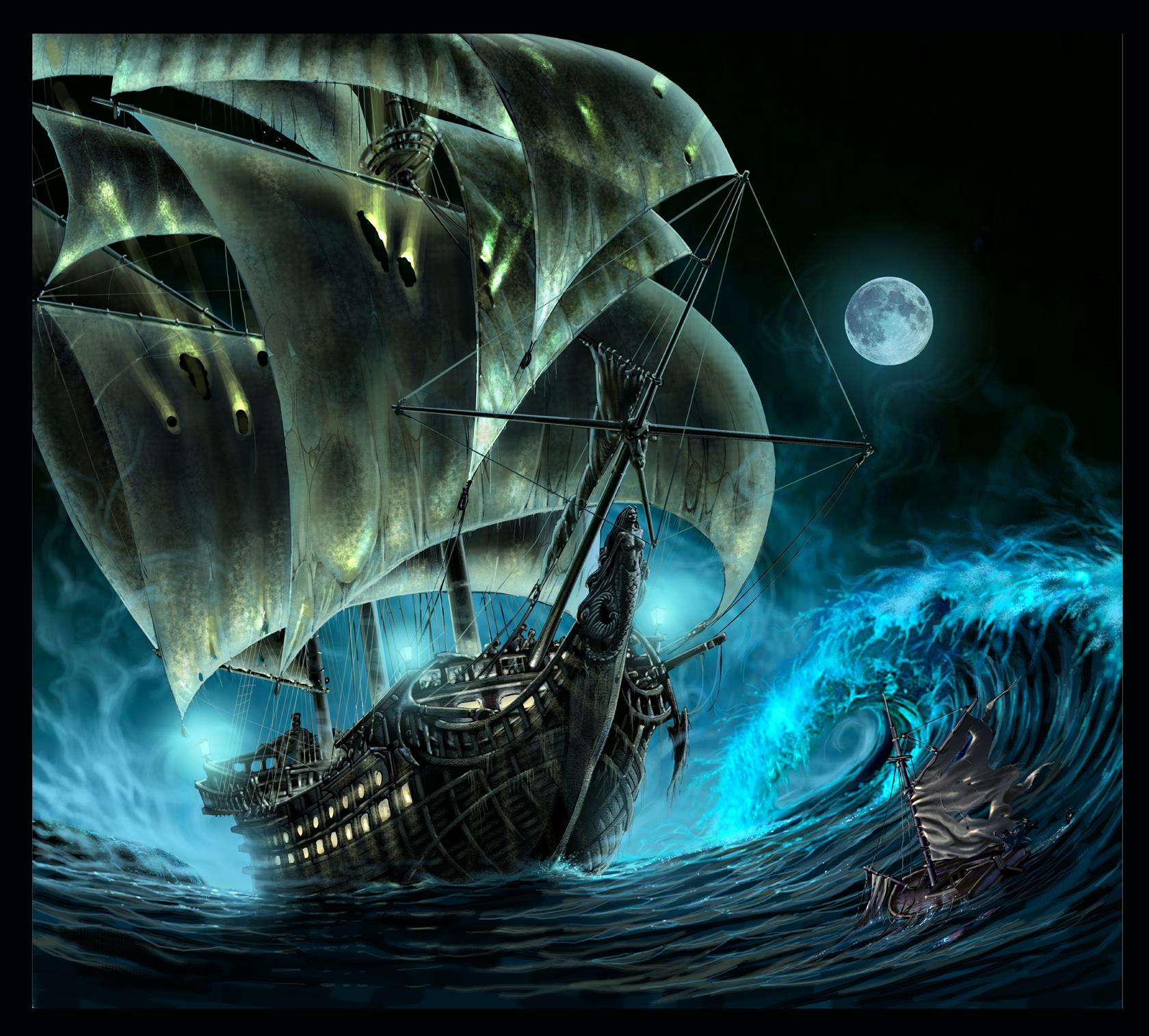 Mahendra: 10 Kapal Hantu Termisterius Dan Mistis
