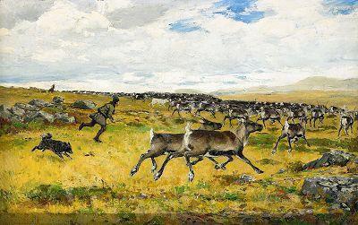 Tiren Johan Тирен Йохан (1853-1911) (77 работ)