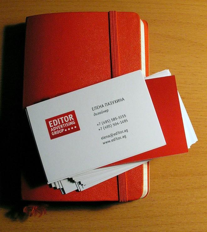 стильные визитки фото
