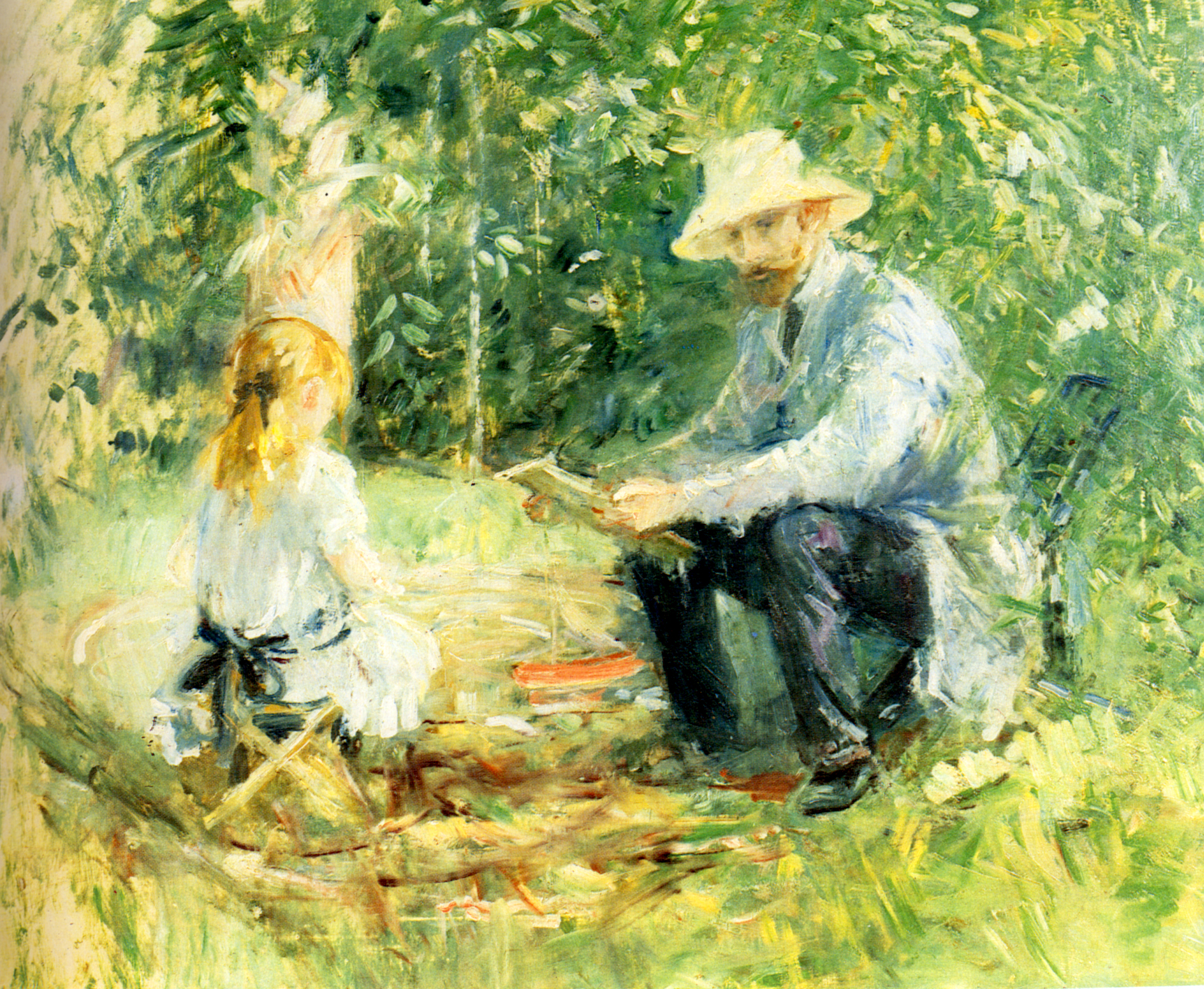63 best Berthe Morisot images on Pinterest  Berthe