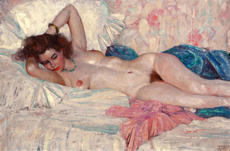 Художник рисует голую девушку 14 фотография