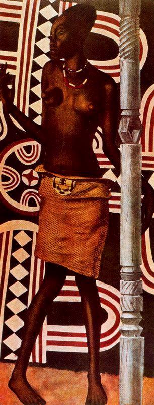 Африка в живописи   Africa in painting (214 работ)