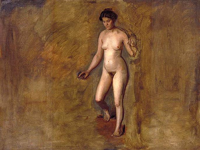 Порно натурщицы и художника 268