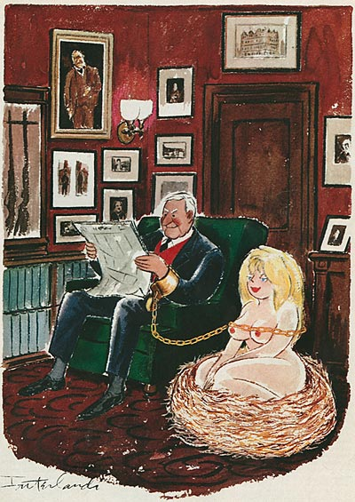 Phil Interland (American, 1924-2002). Playboy Cartoons (67 работ)