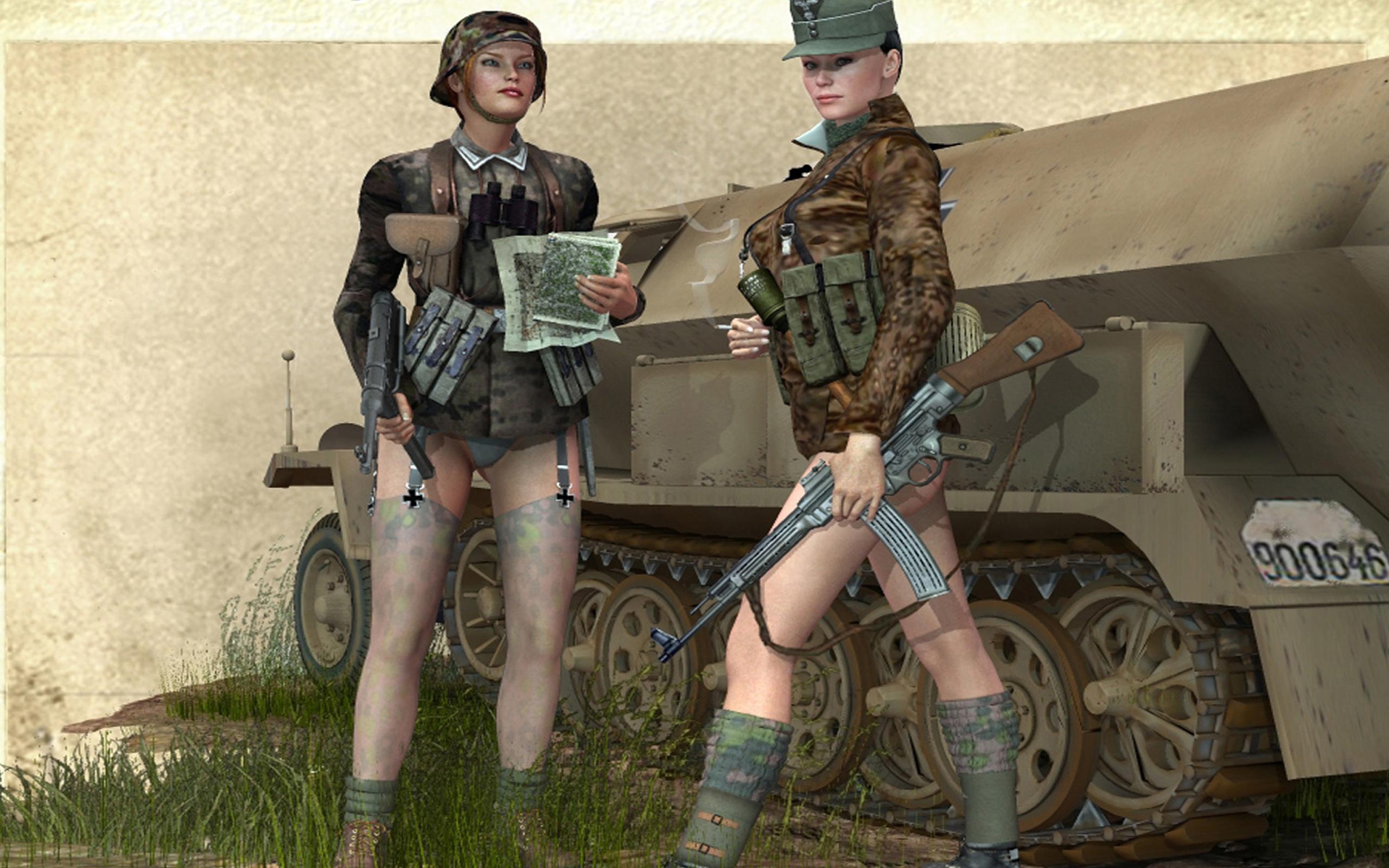 Эротические фото с военными