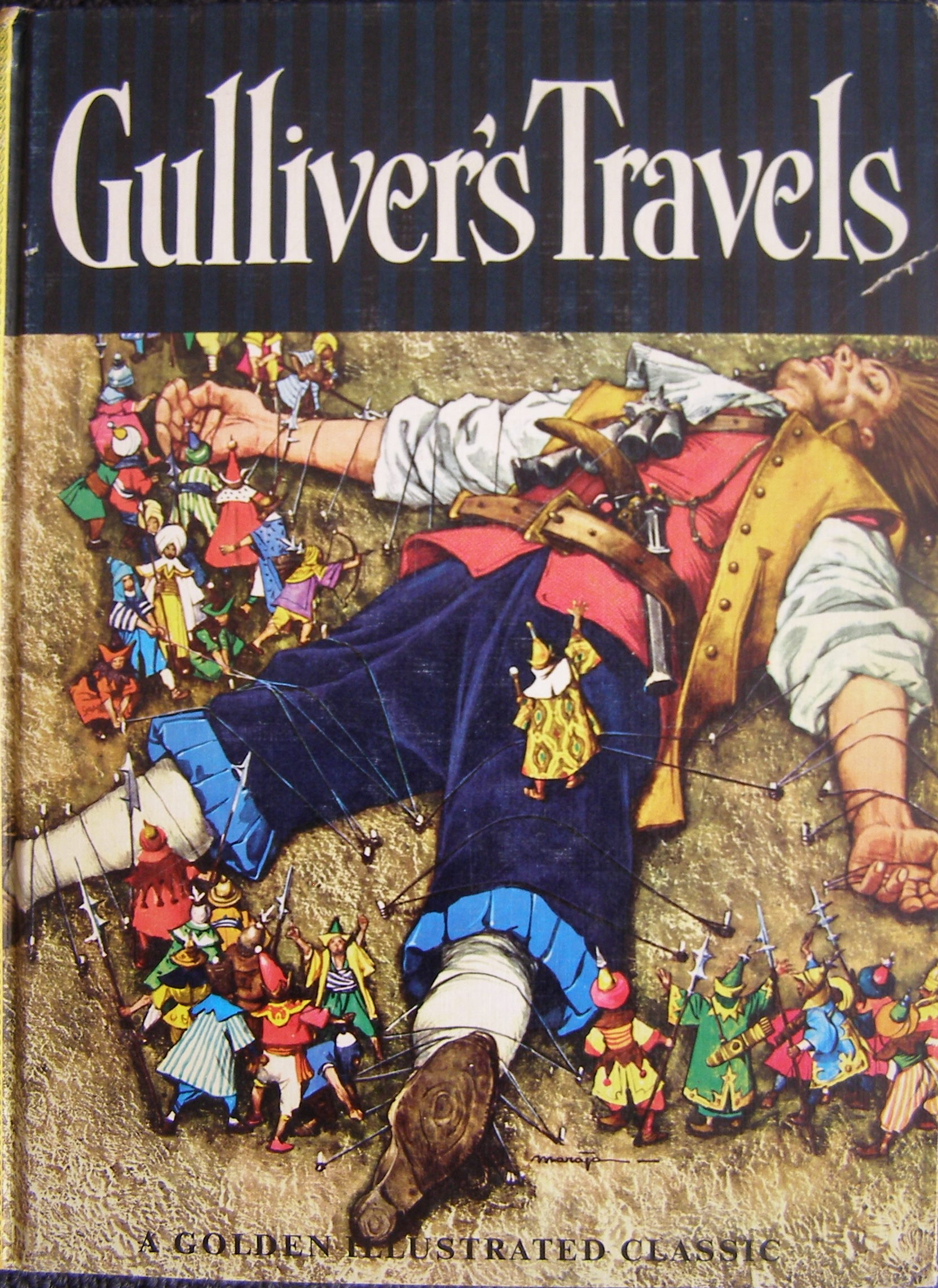 character sketch of gulliver Gulliver's travels, or travels into several of equal interest is the character of gulliver himself—he progresses from a cheery optimist at the start of.