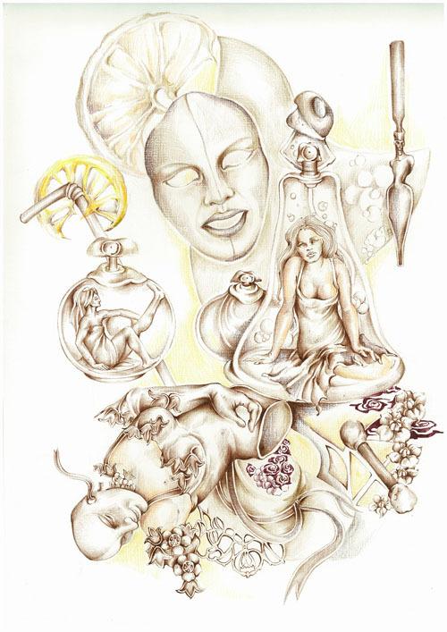 Иллюстратор Марина Рудко (78 работ)