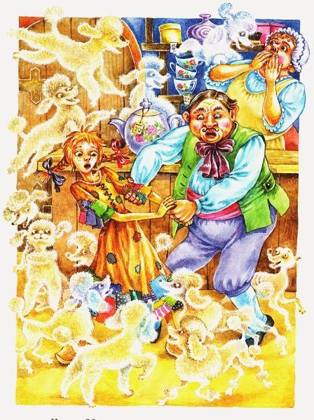 Иллюстратор Ольга Ковалева (97 работ)