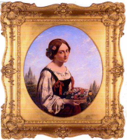 Английский художник Henry Nelson O'Neil (1817-1880) (53 работ)