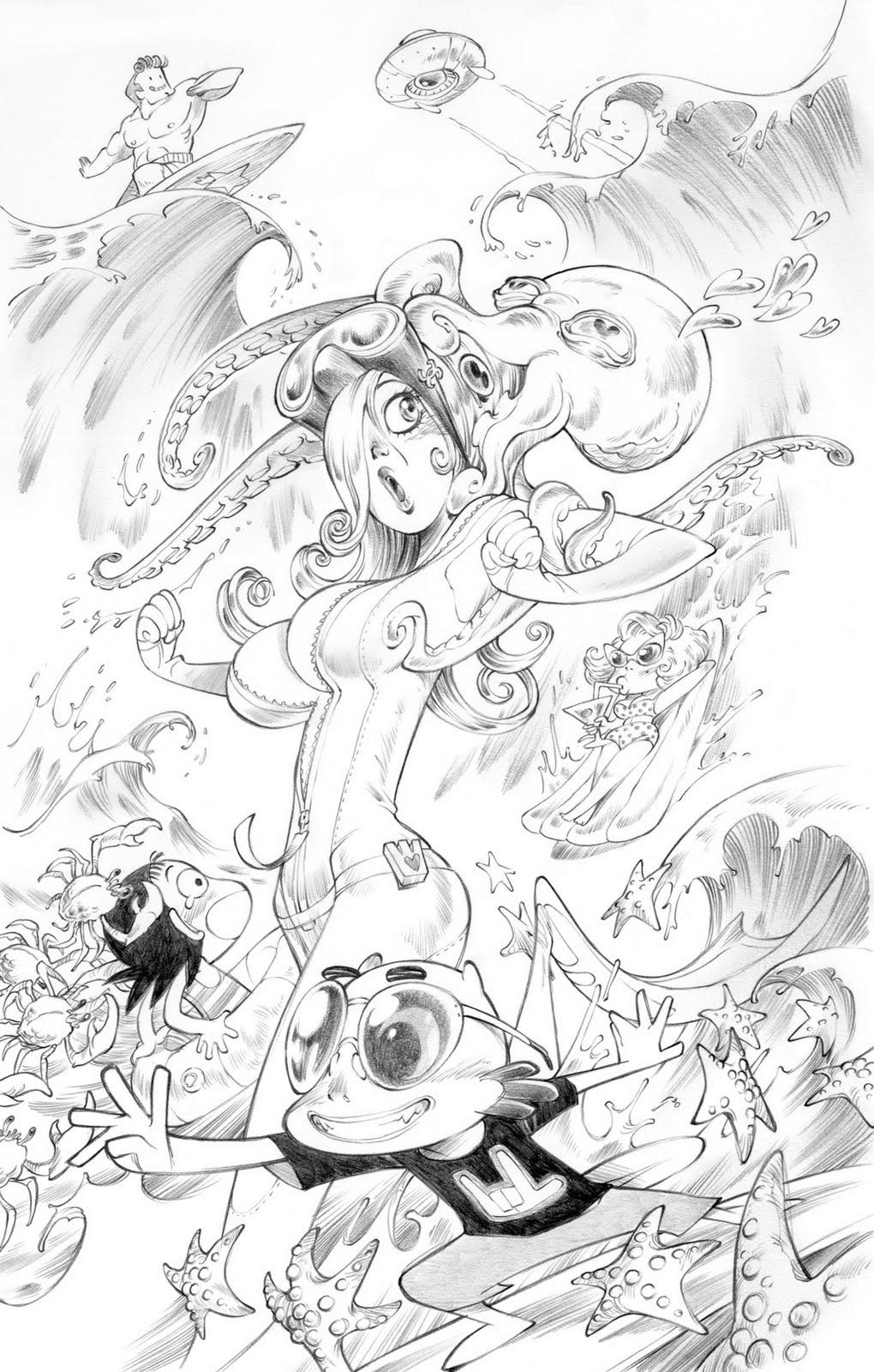 Alessandro barbucci sketches