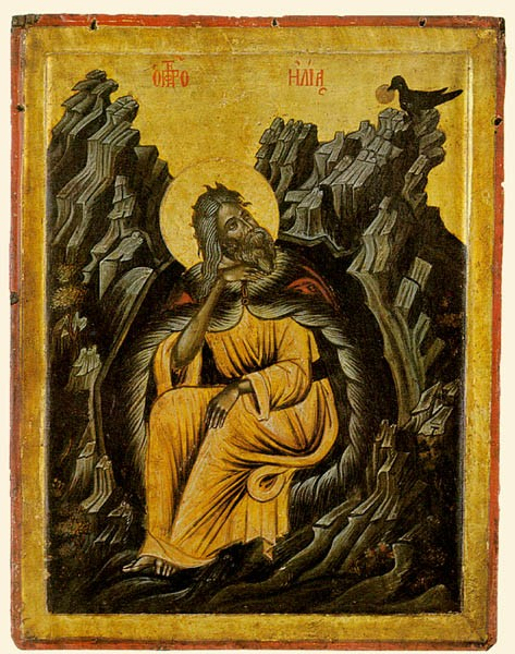 Византийские иконы - Пророки,Распятие (41 фото)