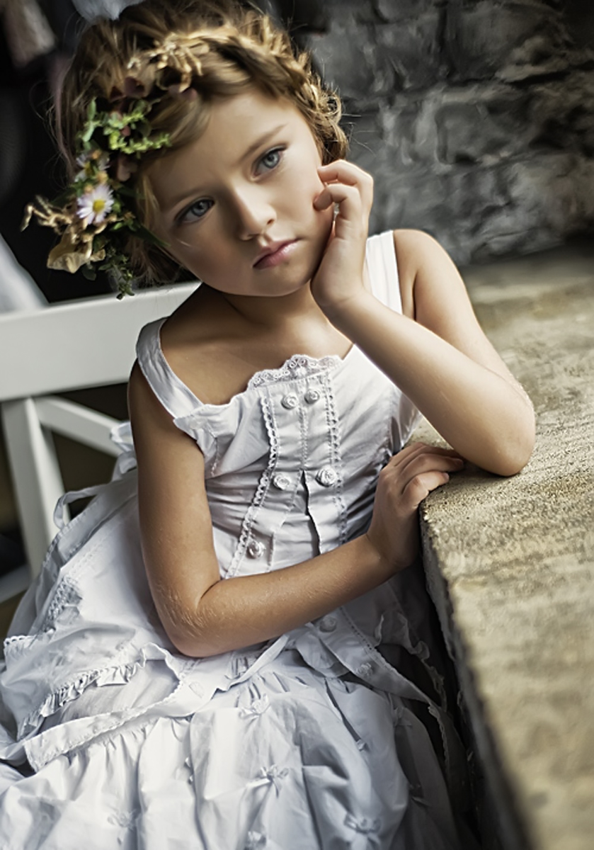 Kristina Pimenova - маленькая модель.