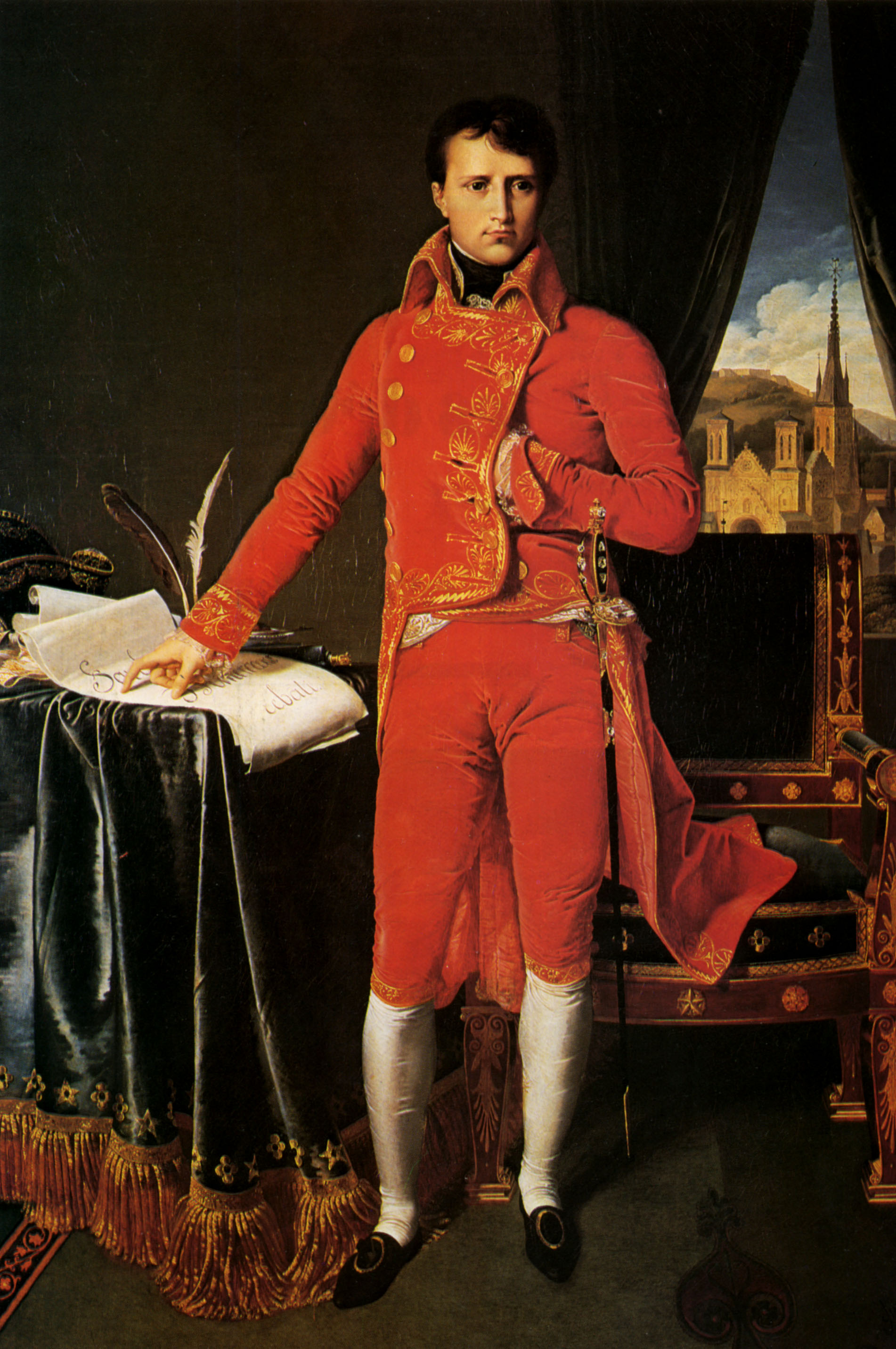 an analysis of the napoleon character