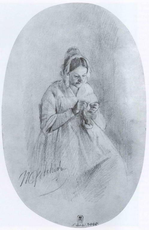 Художник Федотов Павел Андреевич (1815-1852) (88 работ)