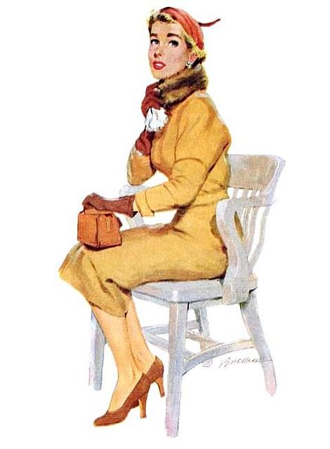 Забытые иллюстраторы - Lynn Buckham (48 работ)