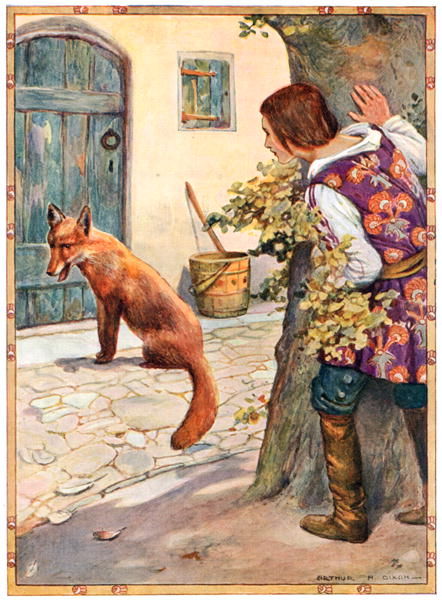 Иллюстратор Артур Август Диксон (Arthur Augustus Dixon) 1872-1959 (49 работ)