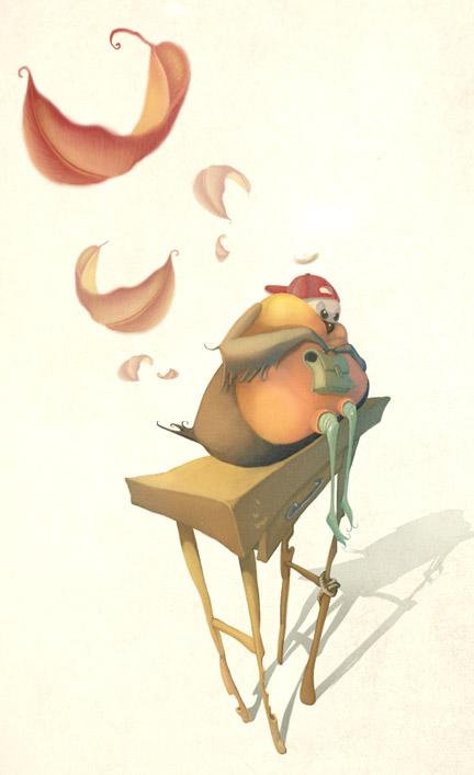 Итальянская художница - иллюстратор Патриция Кастелао | Patricia Castelao (117 работ)